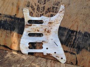 aluminum pickguard