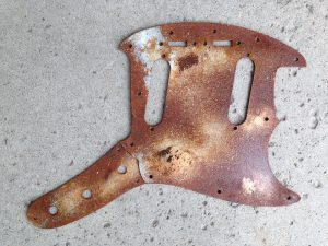Metal Mustang Pickguard