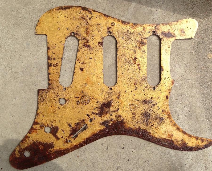 burnt gold Strat