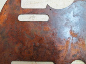 rusted telecaster