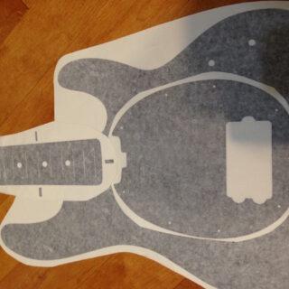 Stingray bass blueprint